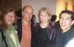 Peter Canby and his wife, Liza, Felipe Galindo