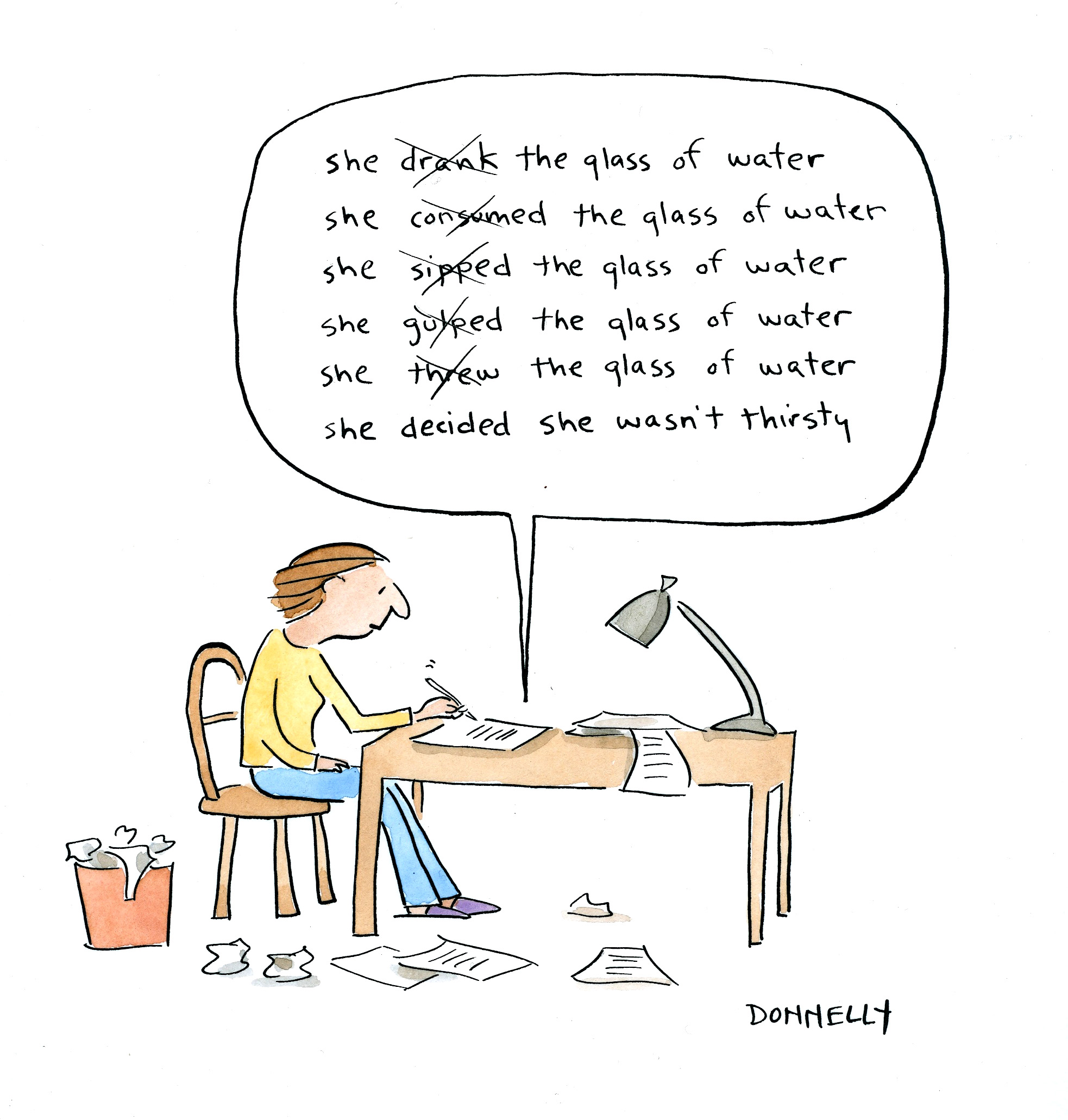 Word and Image: The Art of Cartooning | When Do They Serve The Wine?