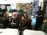 Marc Eskenazi (Assistant to cartoon editor), Liam Walsh, Emily Flake, Felipe Galindo
