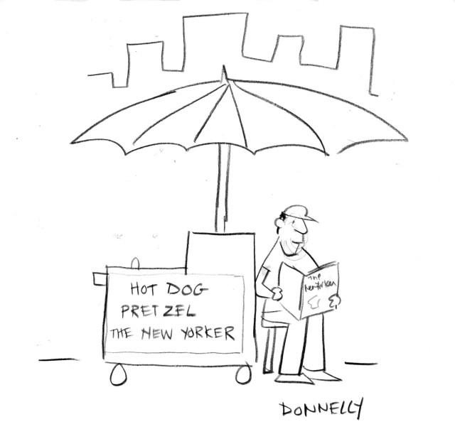 New Yorker Festival sketch idea