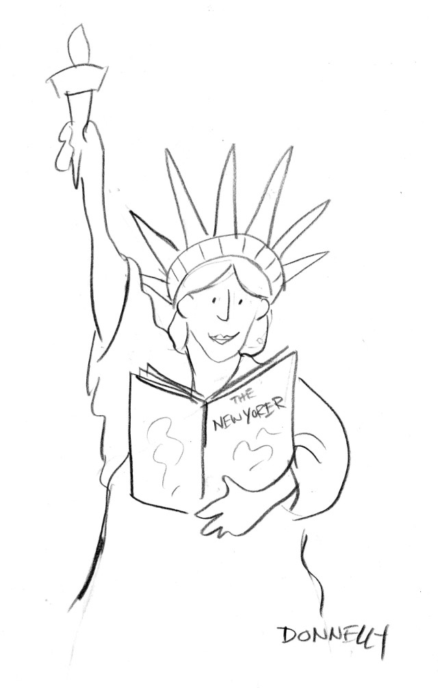 New Yorker festival t-shirt idea