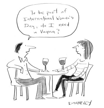 International women's day vagina