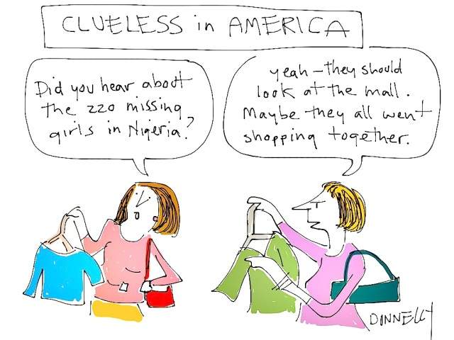 CLuesless in America